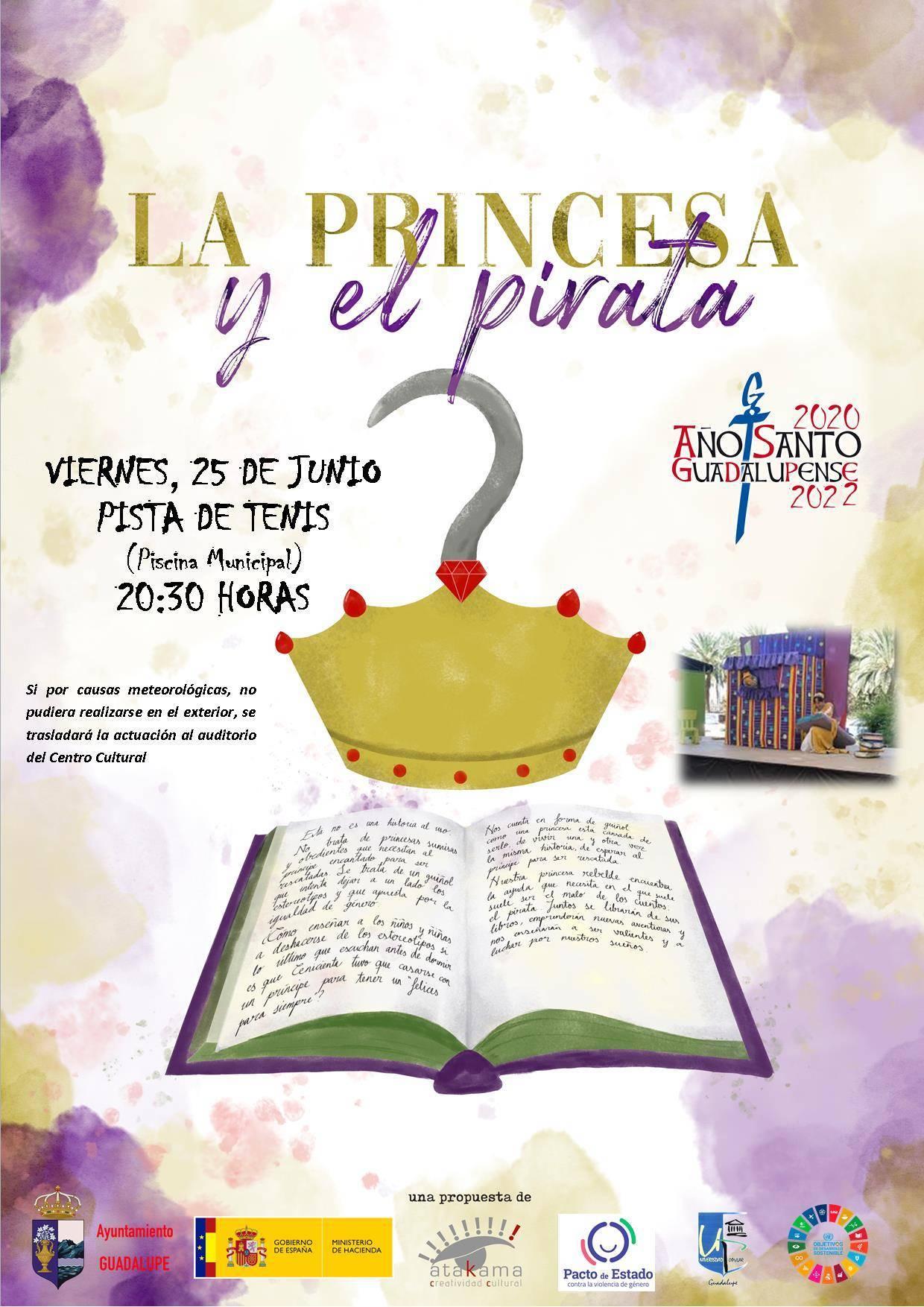 La princesa y el pirata (2021) - Guadalupe (Cáceres)