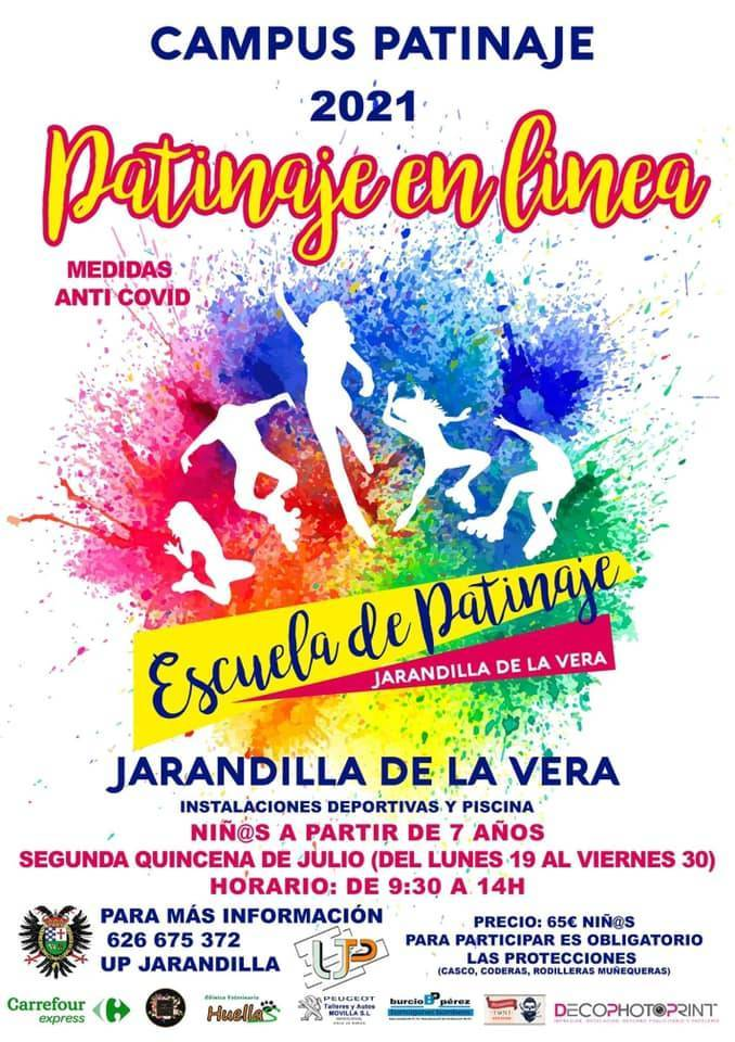 Patinaje en línea (2021) - Jarandilla de la Vera (Cáceres)