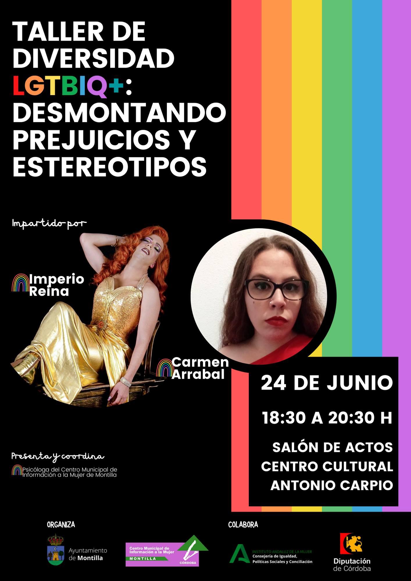 Taller de LGTBIQ+ (2021) - Montilla (Córdoba)