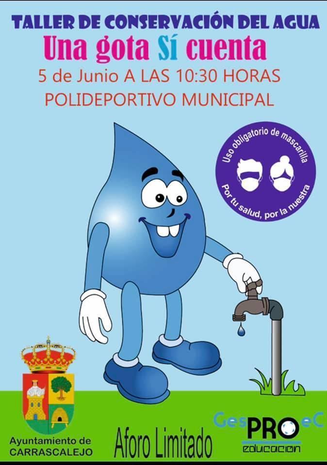 Taller de conservación del agua (2021) - Carrascalejo (Cáceres)