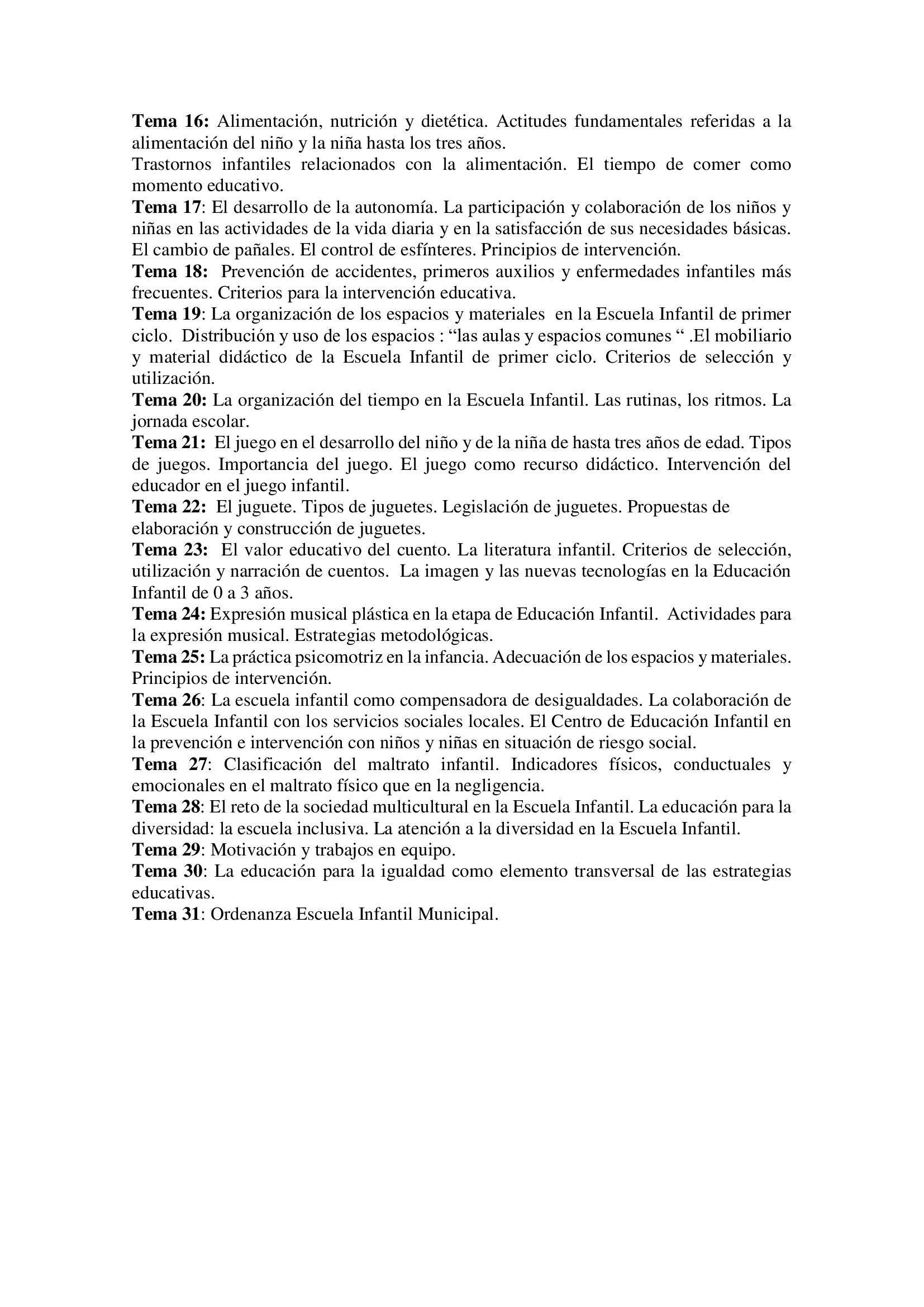 Bolsa de técnicos-as en educación infantil (2021) - Logrosán (Cáceres) 14