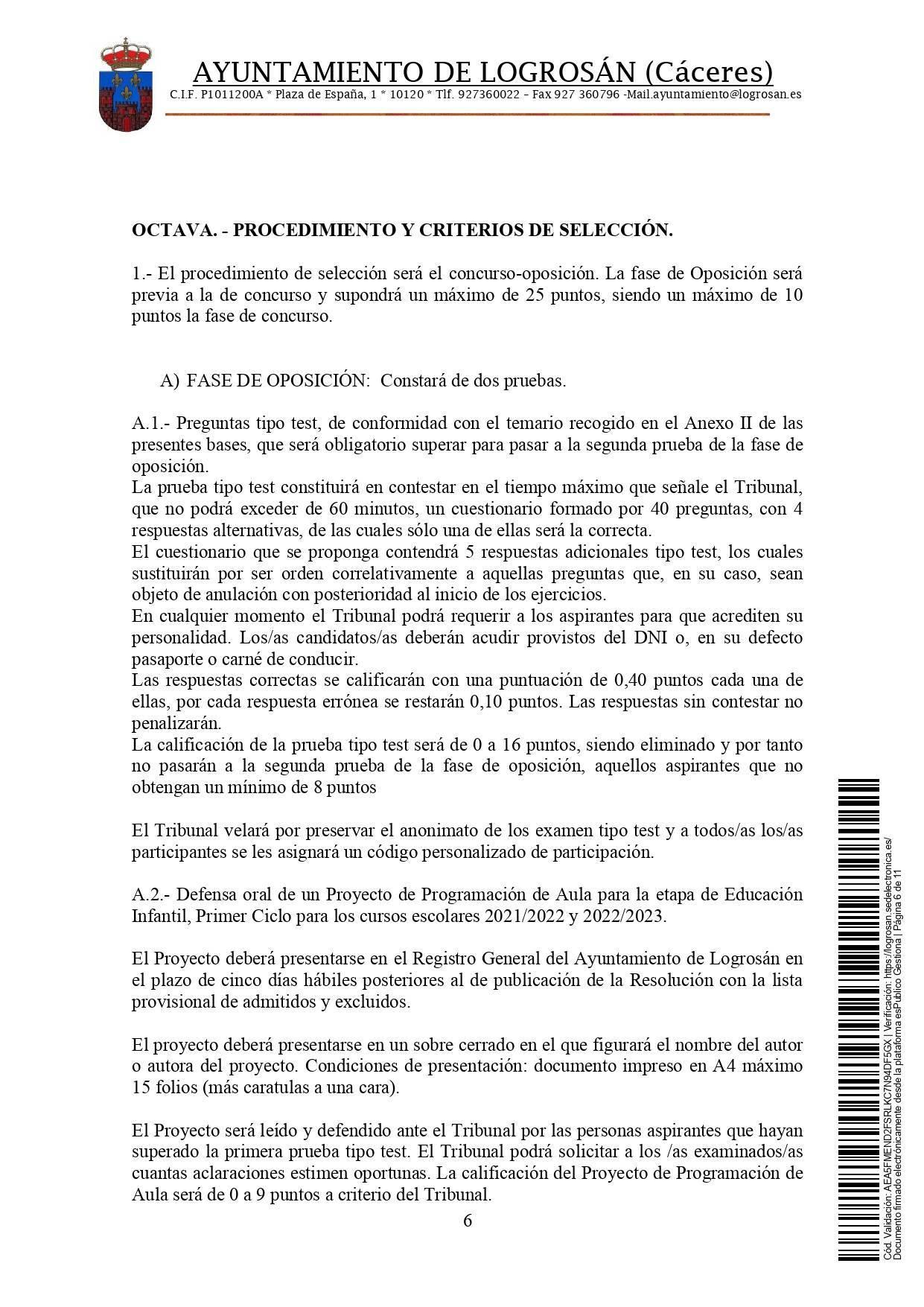 Bolsa de técnicos-as en educación infantil (2021) - Logrosán (Cáceres) 6