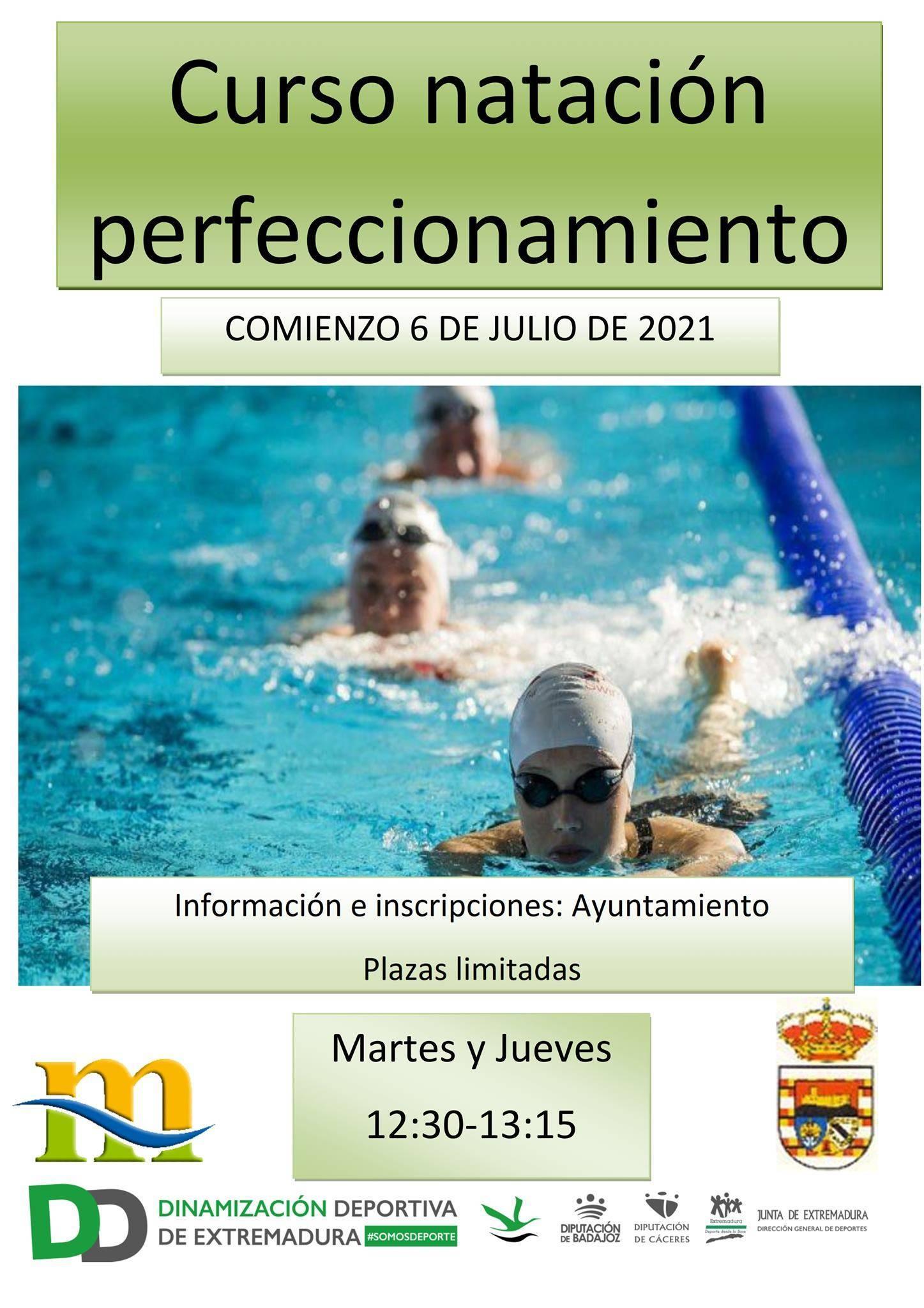Curso de natación de perfeccionamiento (2021) - Puebla de Alcocer (Badajoz)