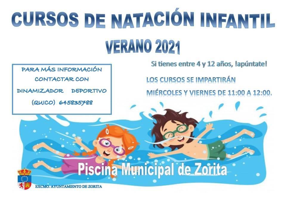 Curso de natación infantil (2021) - Zorita (Cáceres)