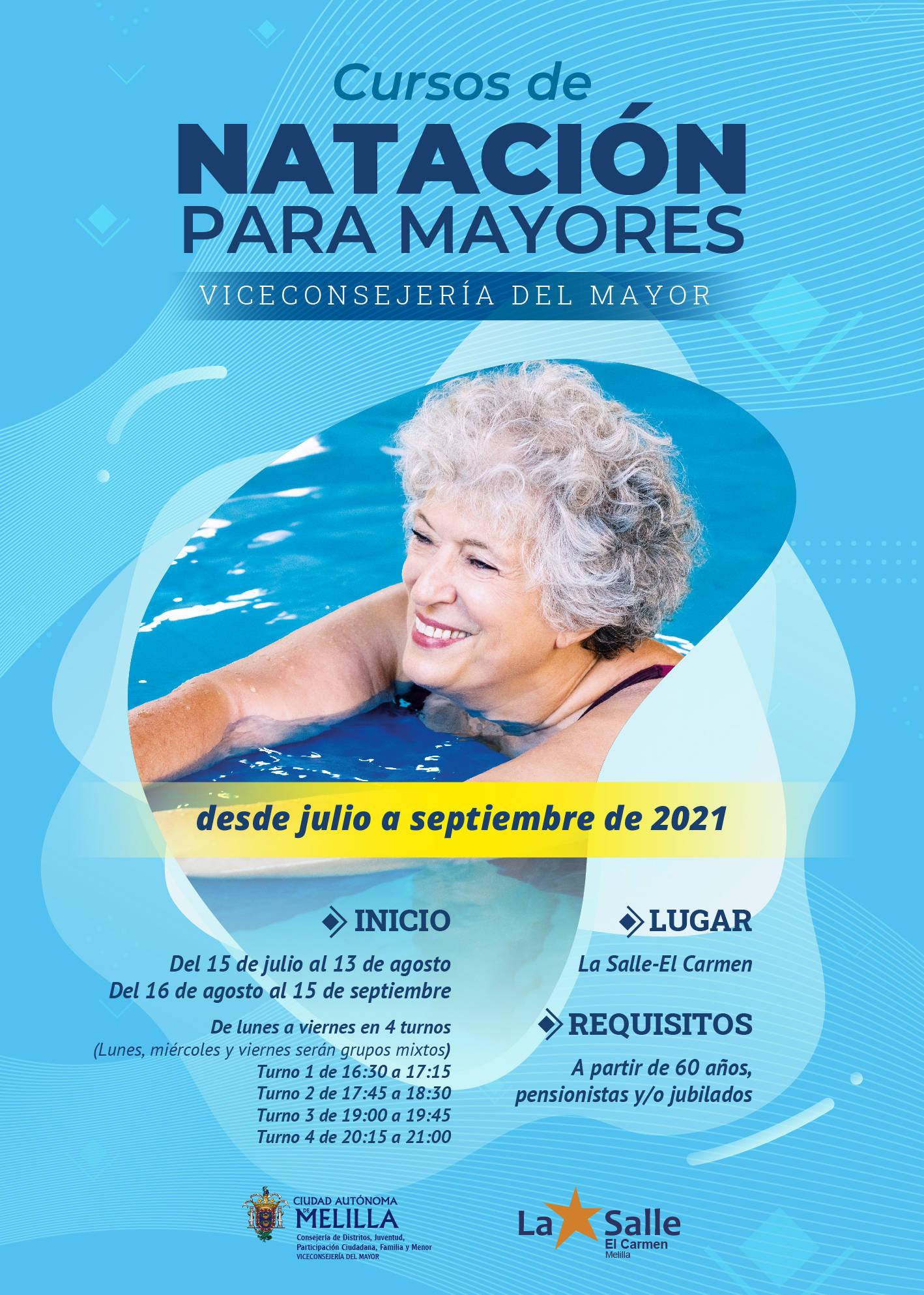 Curso de natación para mayores (2021) - Melilla