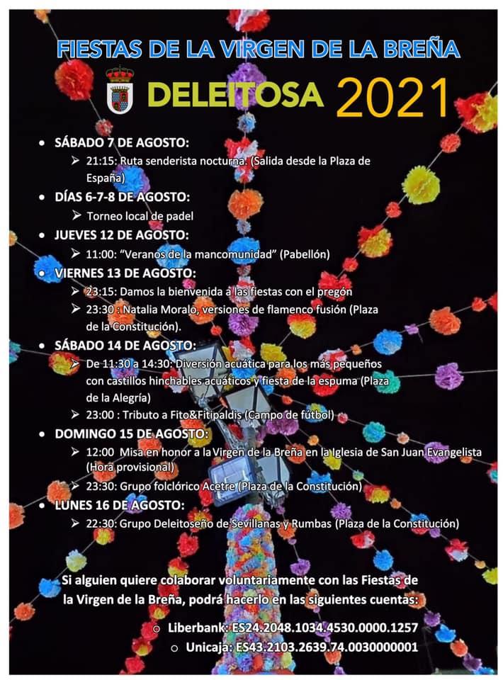 Fiestas de la Virgen de la Breña (2021) - Deleitosa (Cáceres)