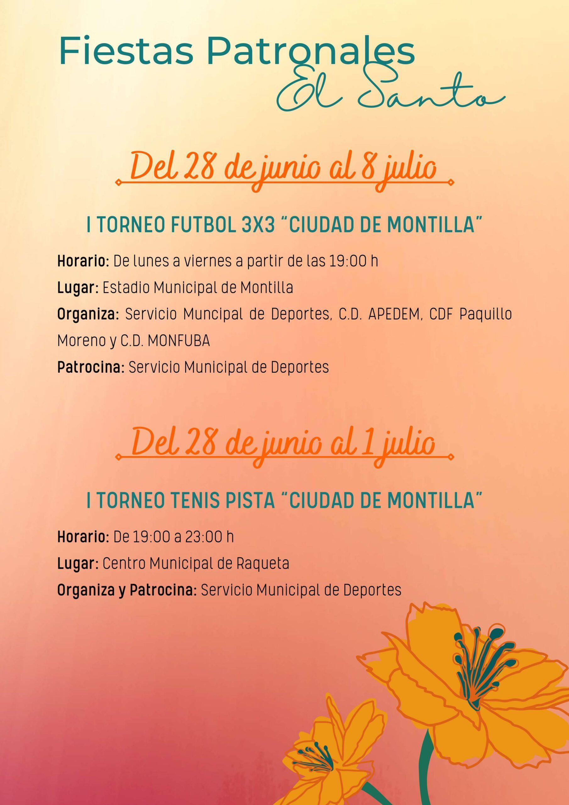 Fiestas patronales de El Santo (2021) - Montilla (Córdoba) 3