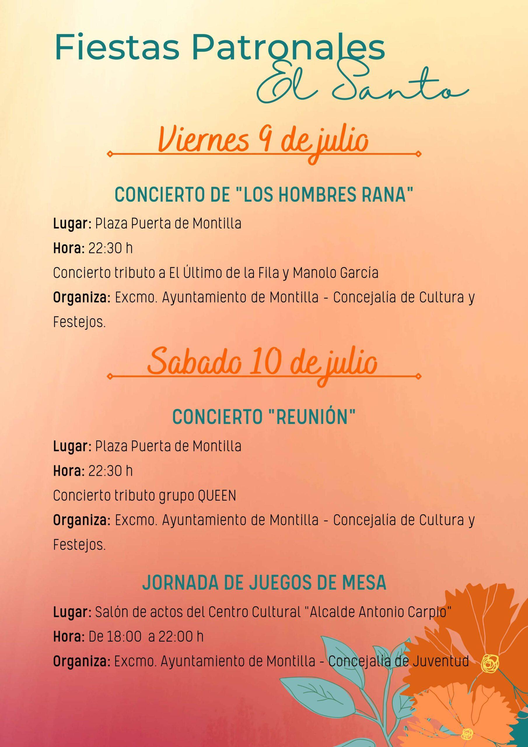Fiestas patronales de El Santo (2021) - Montilla (Córdoba) 5