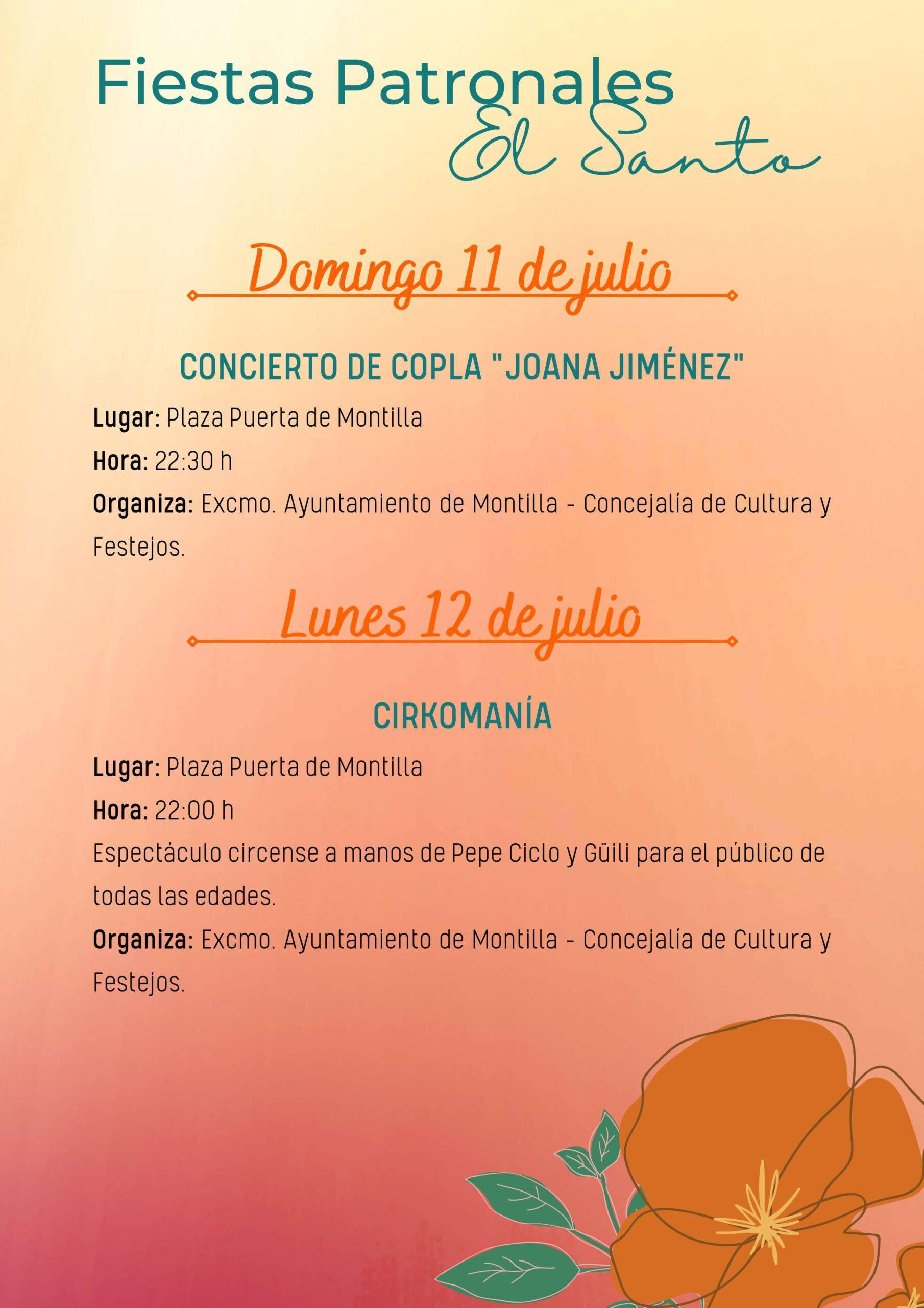 Fiestas patronales de El Santo (2021) - Montilla (Córdoba) 6