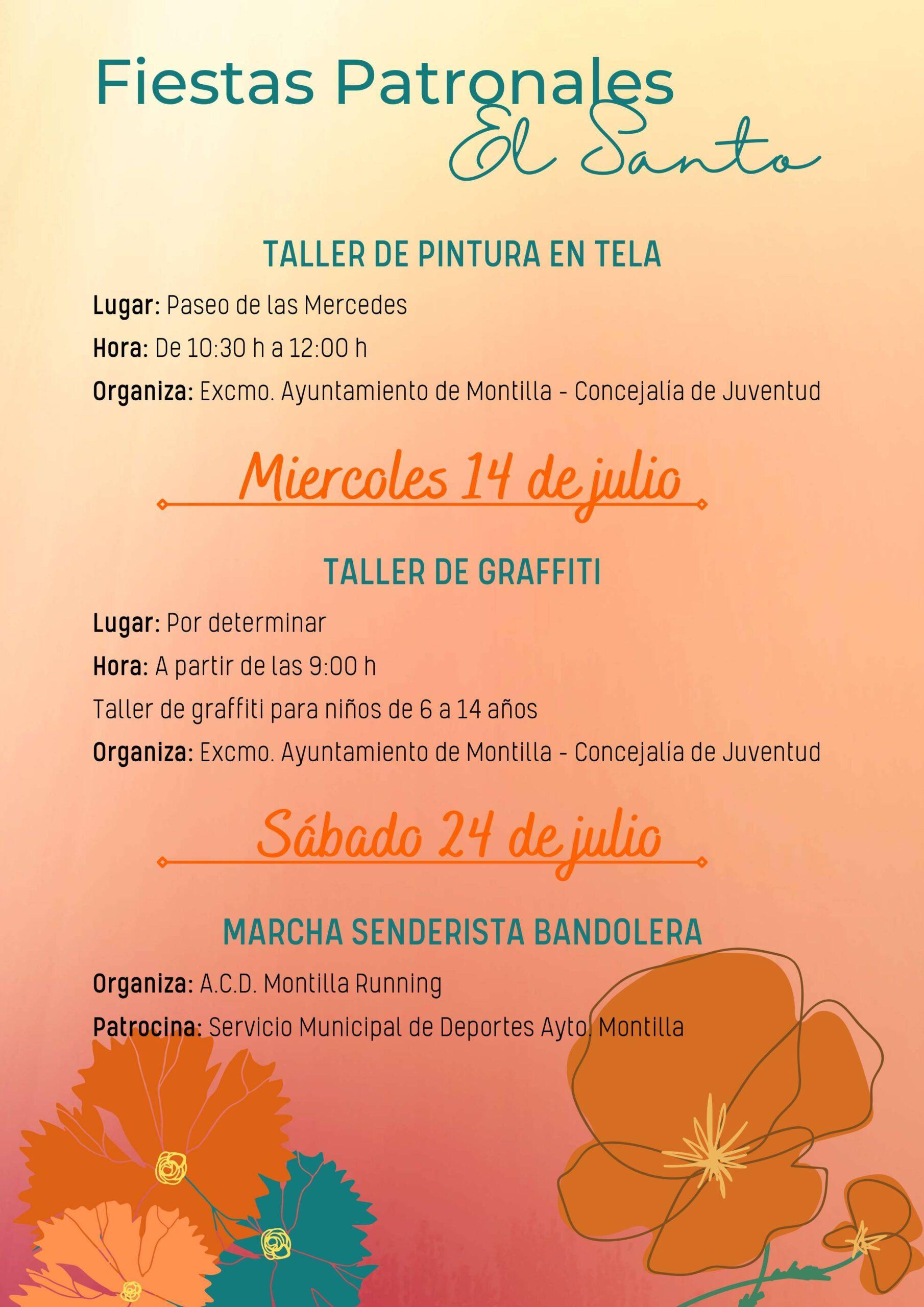 Fiestas patronales de El Santo (2021) - Montilla (Córdoba) 8
