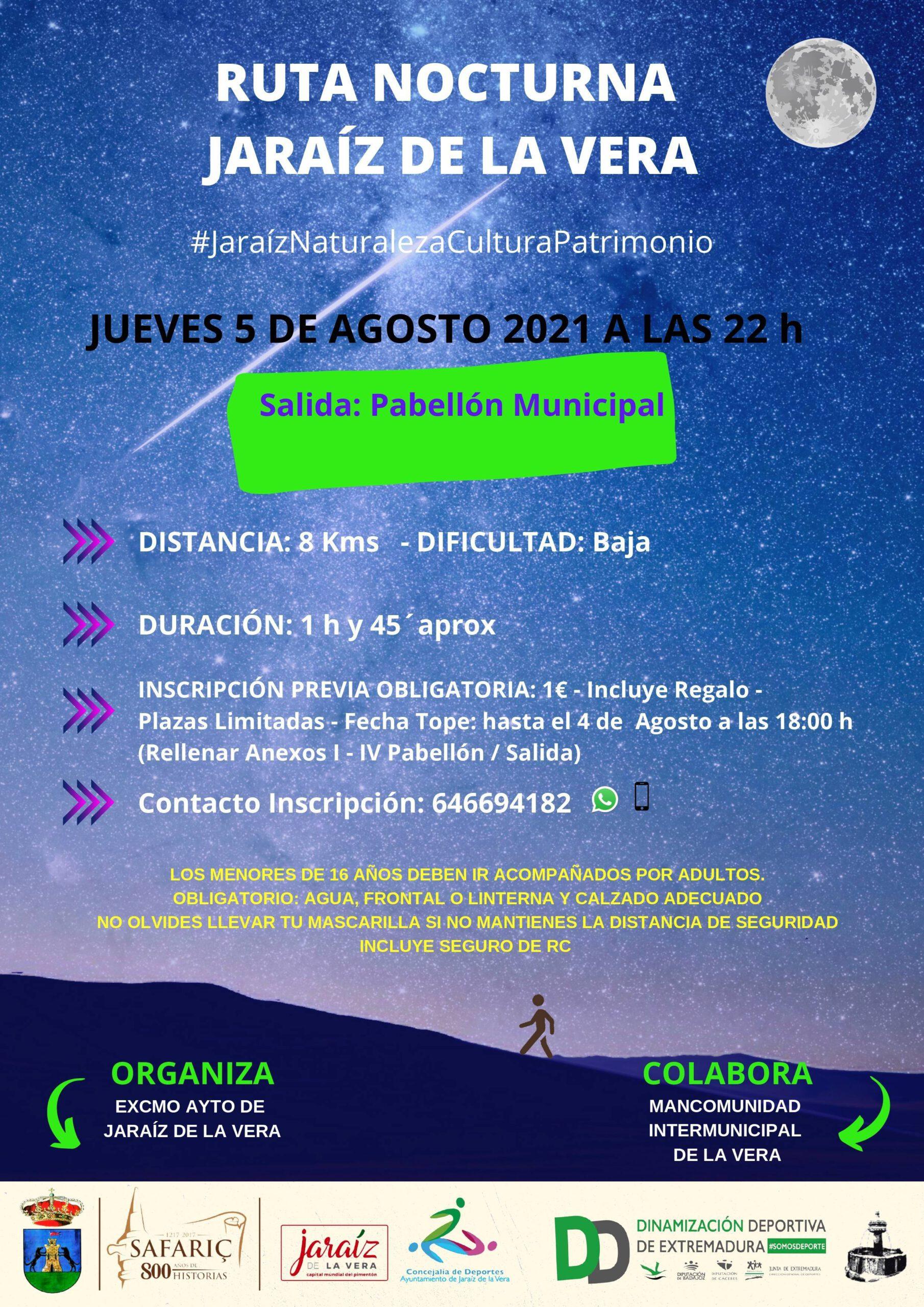 Ruta nocturna (2021) - Jaraíz de la Vera (Cáceres)