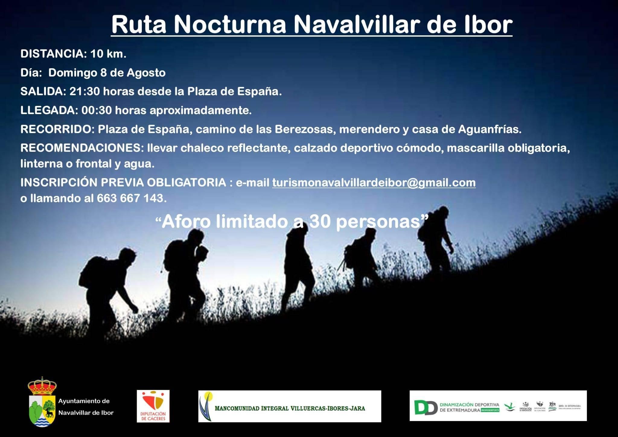 Ruta nocturna (2021) - Navalvillar de Ibor (Cáceres)