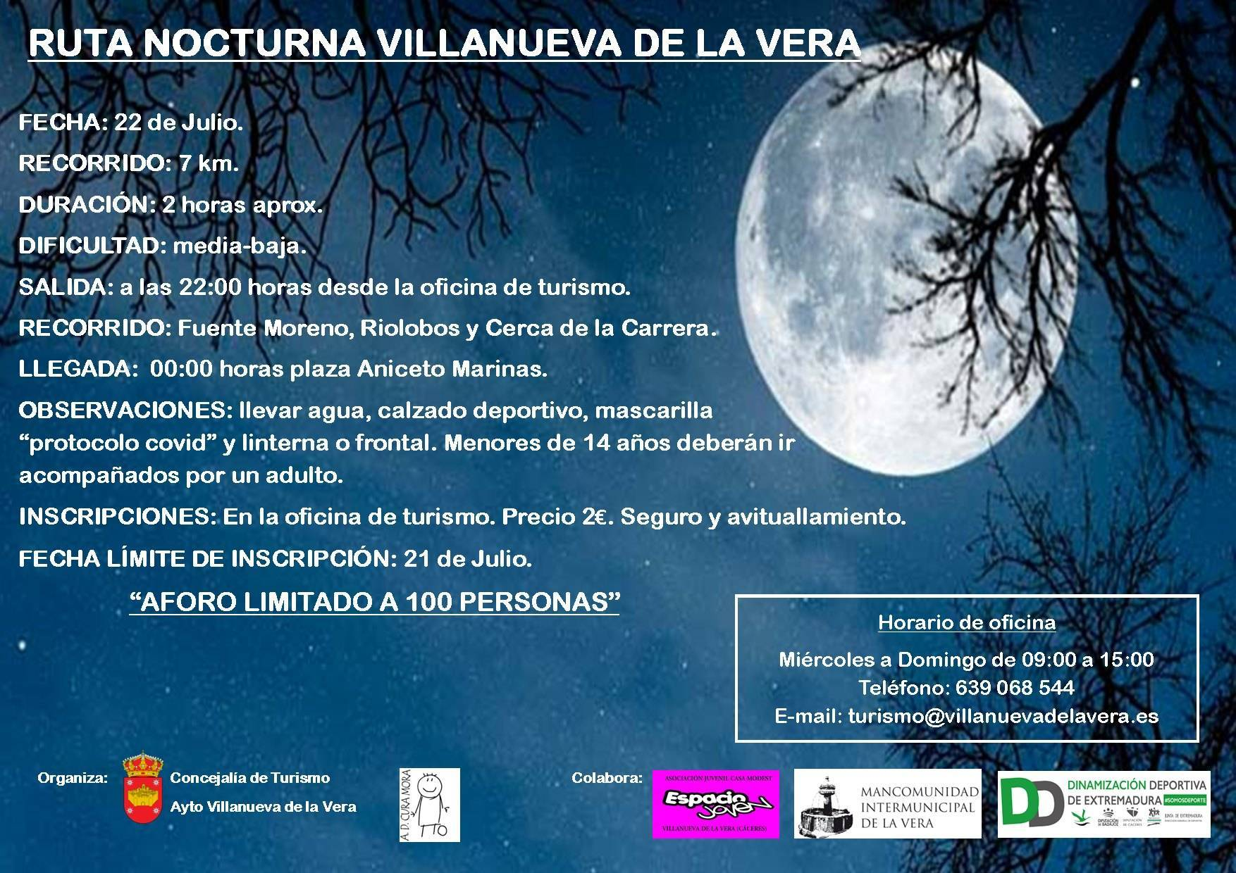 Ruta nocturna (2021) - Villanueva de la Vera (Cáceres)