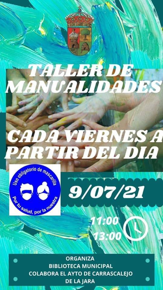 Taller de manualidades (2021) - Carrascalejo (Cáceres)