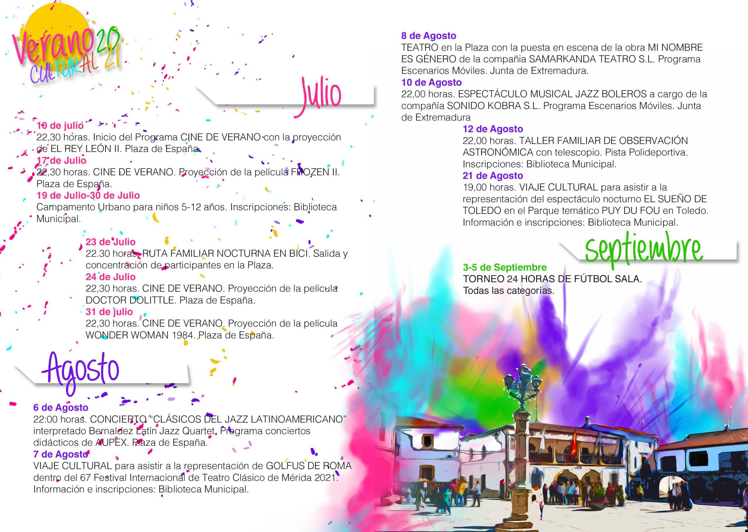 Verano cultural (2021) - Peraleda de la Mata (Cáceres)