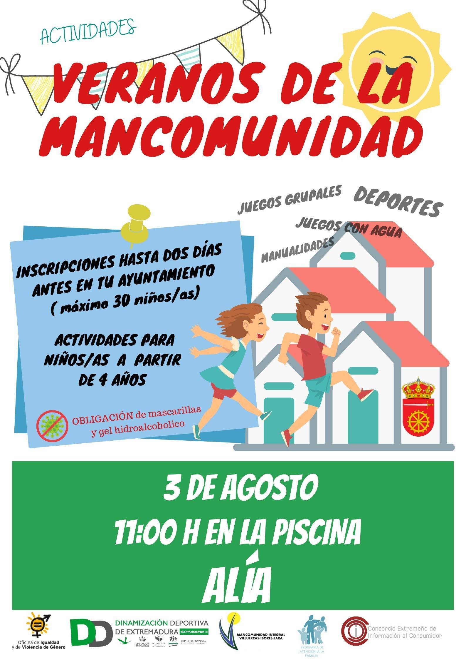 Veranos de la Mancomunidad (2021) - Alía (Cáceres)
