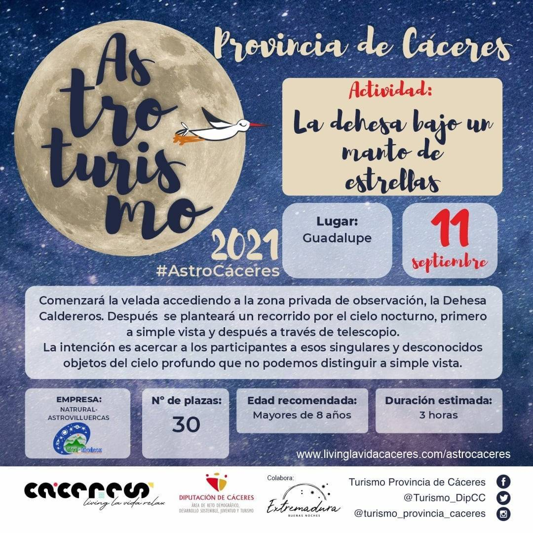 Astroturismo (2021) - Guadalupe (Cáceres)