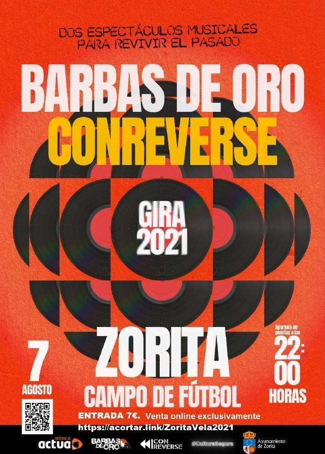 Barbas de Oro & Conreverse (2021) - Zorita (Cáceres)