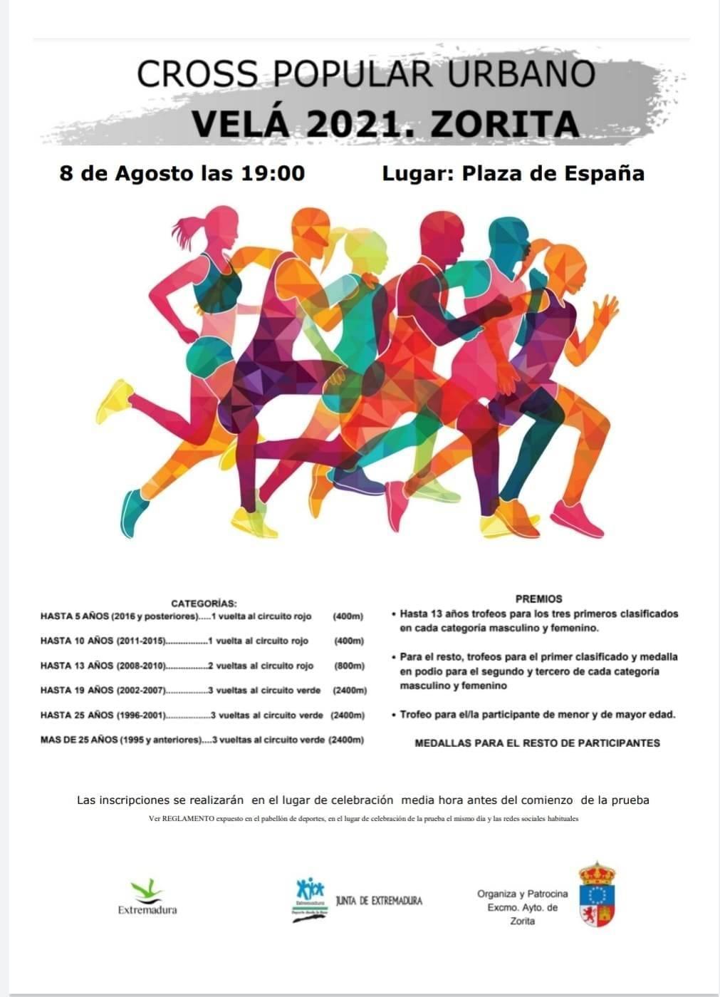 Cross popular urbano (2021) - Zorita (Cáceres)