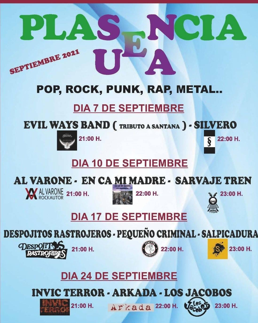 II edición del Festival de Música 'Plasencia Suena' - Plasencia (Cáceres)
