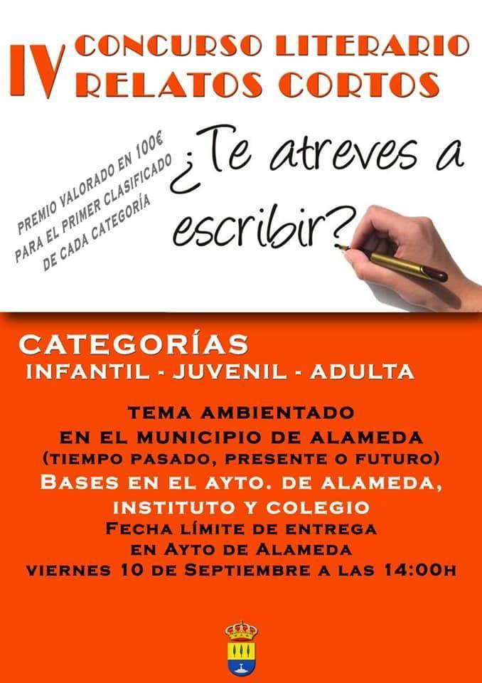 IV concurso literario de relatos cortos - Alameda (Málaga)