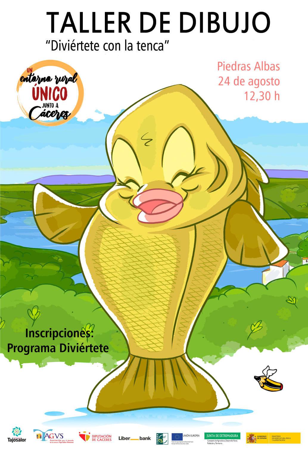 Taller de dibujo (agosto 2021) - Piedras Albas (Cáceres)
