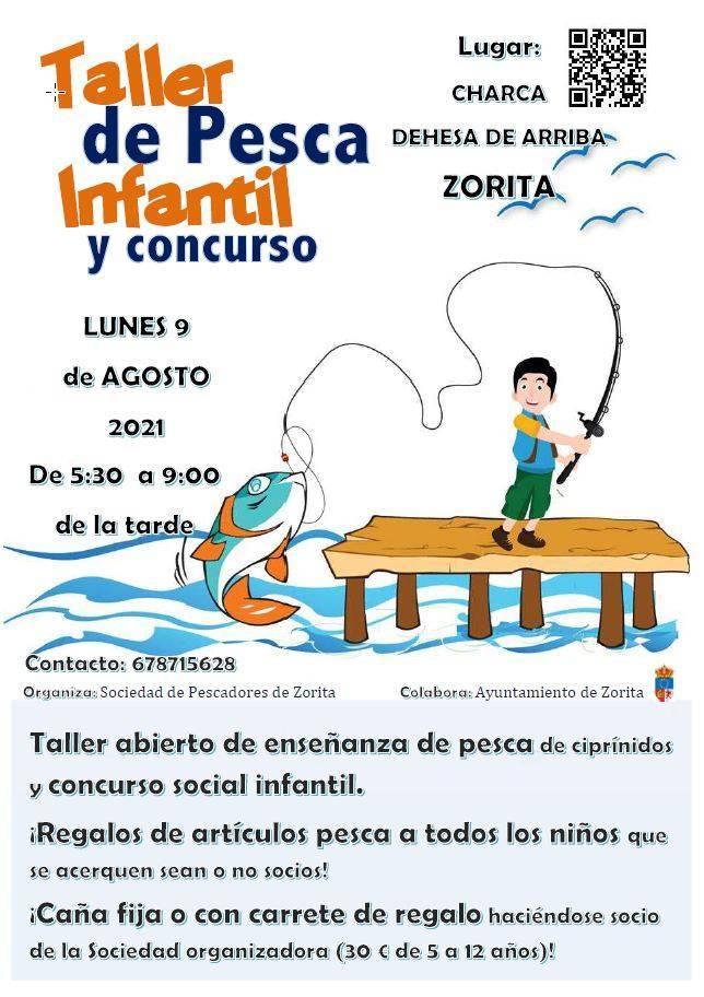 Taller de pesca infantil (2021) - Zorita (Cáceres)