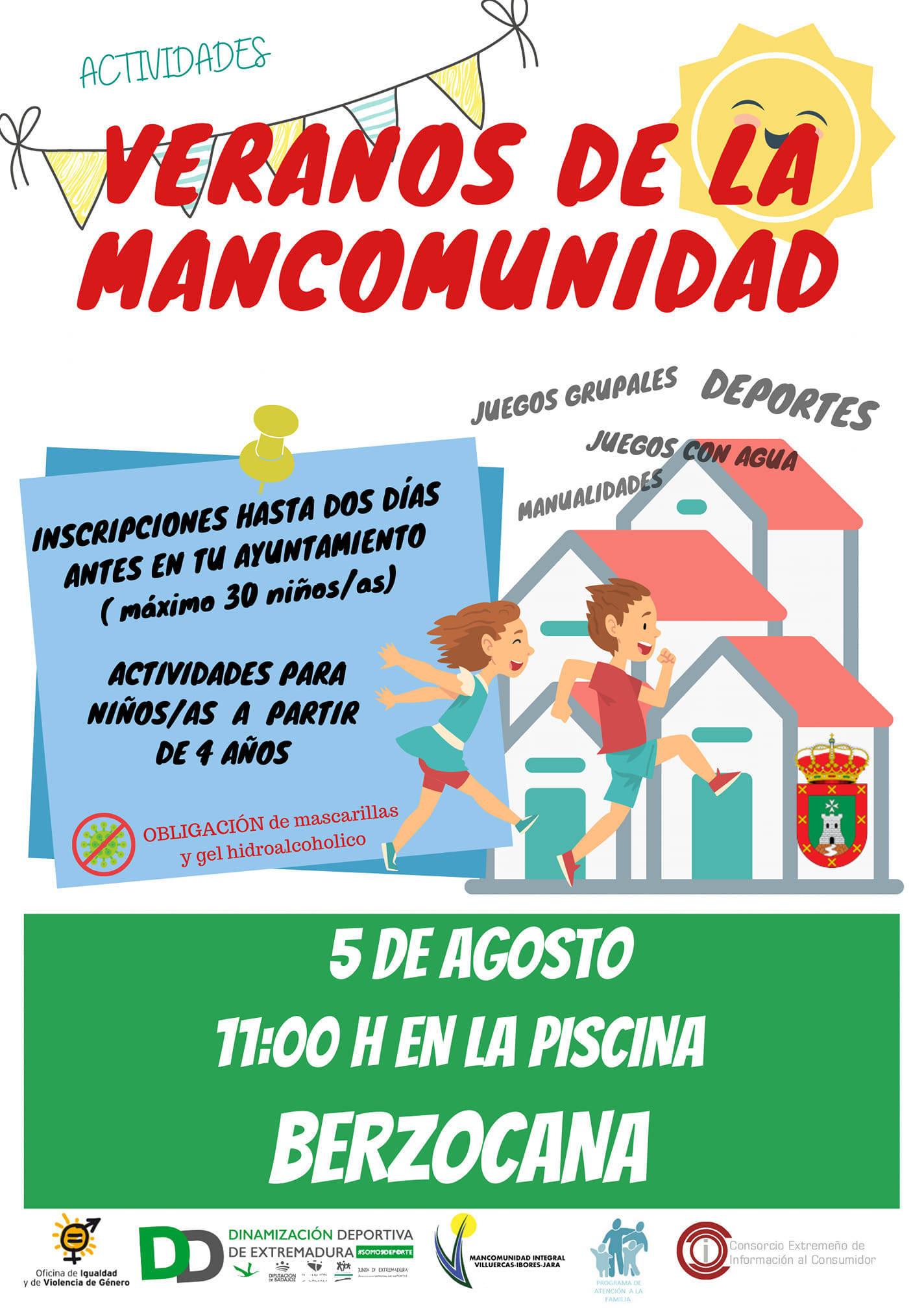Veranos de la Mancomunidad (2021) - Berzocana (Cáceres)