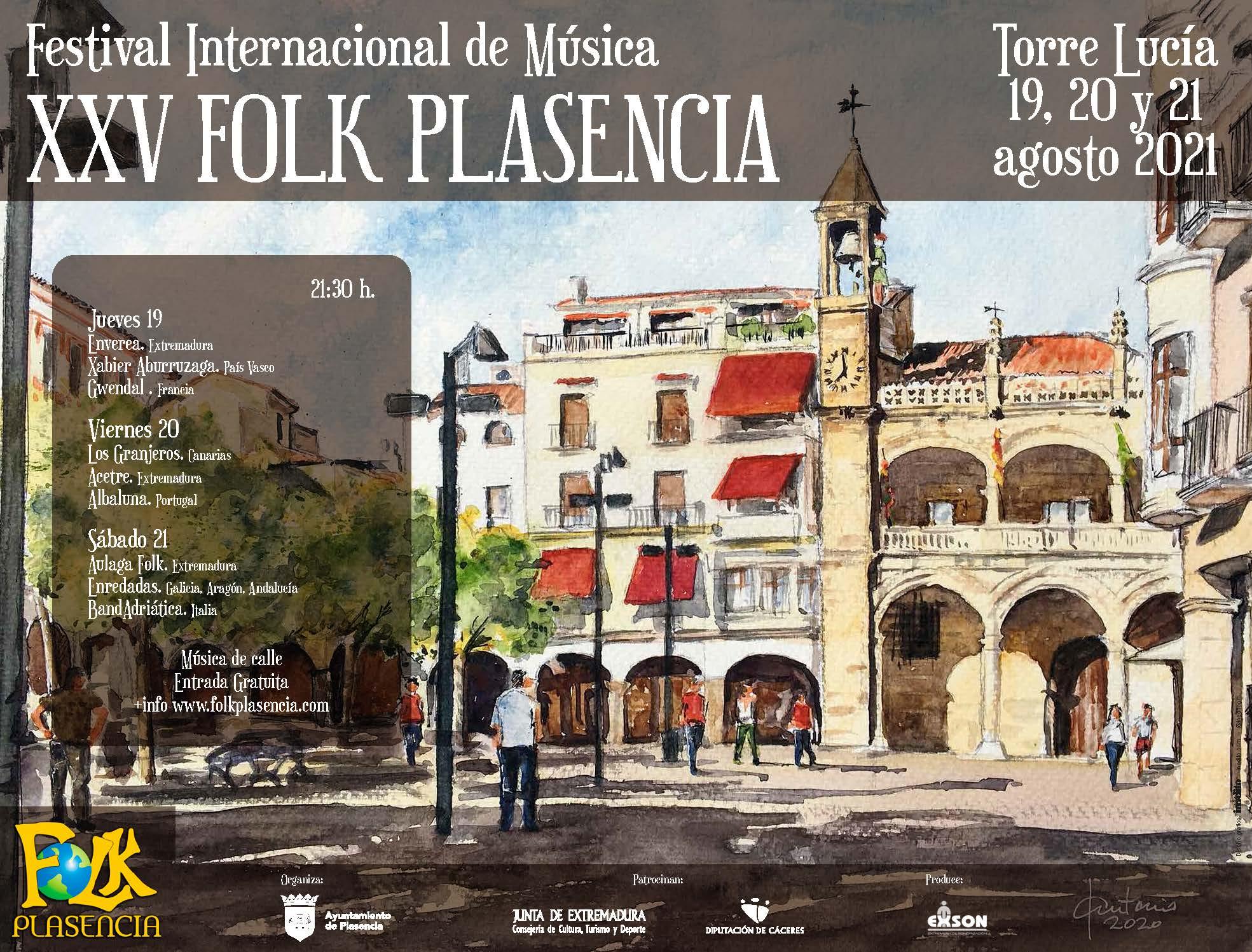 XXV Festival Internacional de Música Folk - Plasencia (Cáceres)