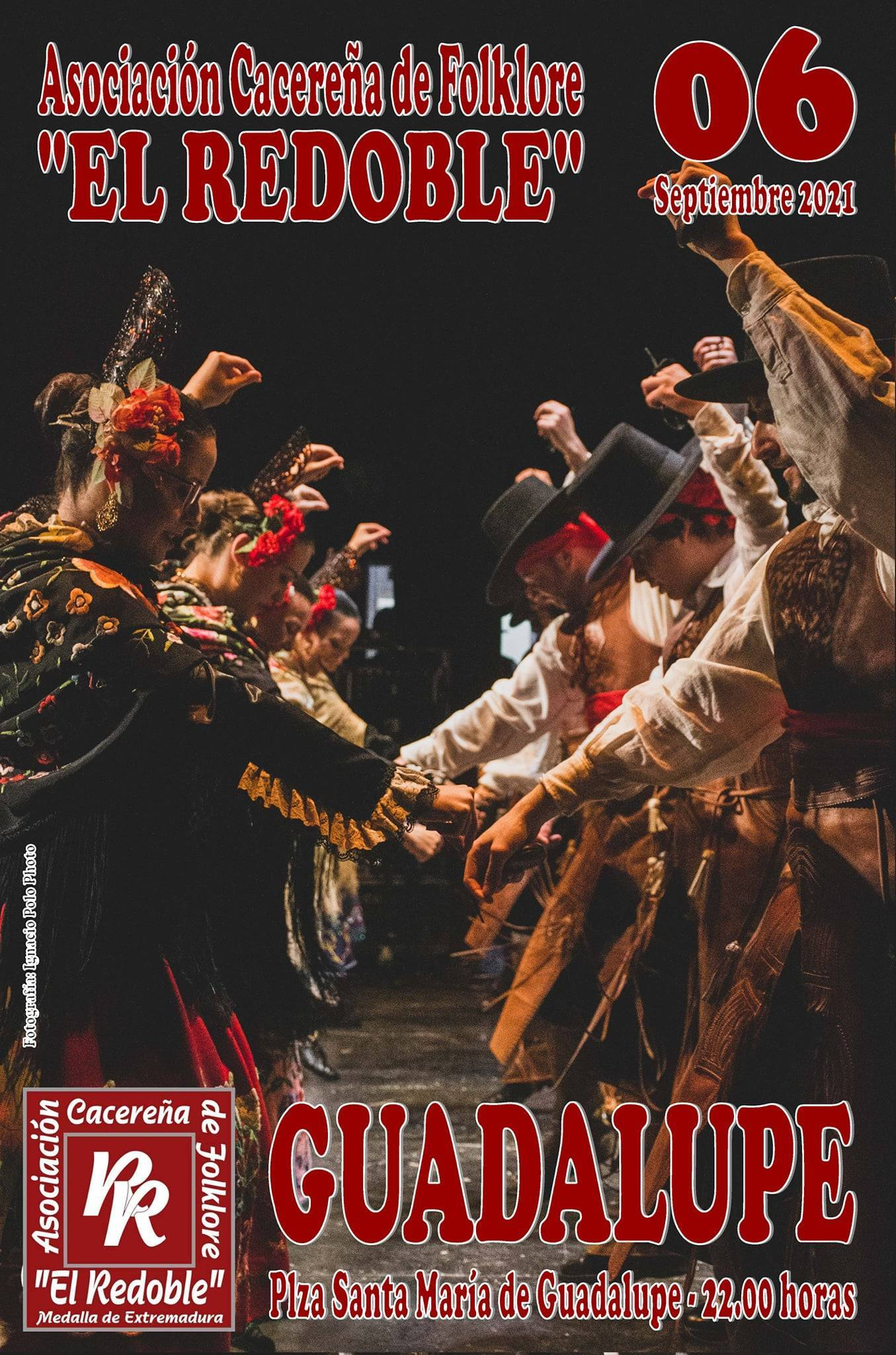 Asociación Cacereña de Folklore 'El Redoble' (2021) - Guadalupe (Cáceres)