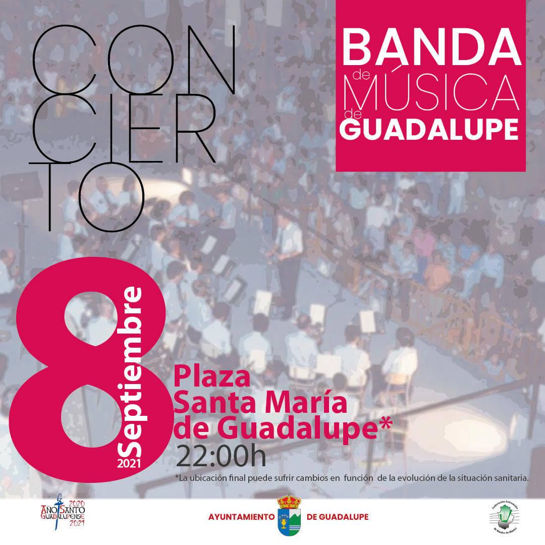 Concierto de la Banda de Música de Guadalupe (2021) - Guadalupe (Cáceres)