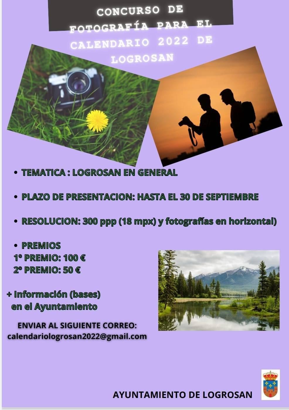 Concurso de fotografía para el calendario anual (2021) - Logrosán (Cáceres)