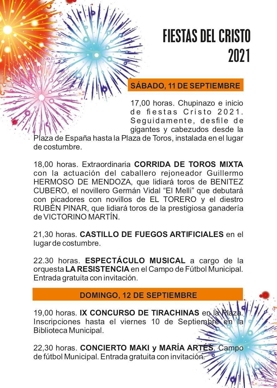 Fiestas del Cristo de la Humildad (2021) - Peraleda de la Mata (Cáceres) 2