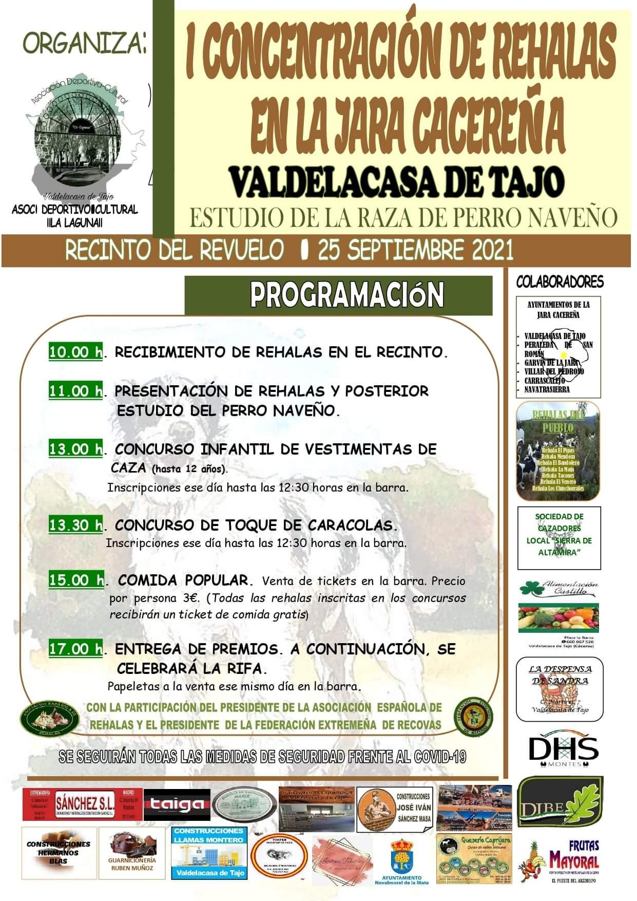 I Concentración de Rehalas en la Jara Cacereña - Valdelacasa de Tajo (Cáceres)