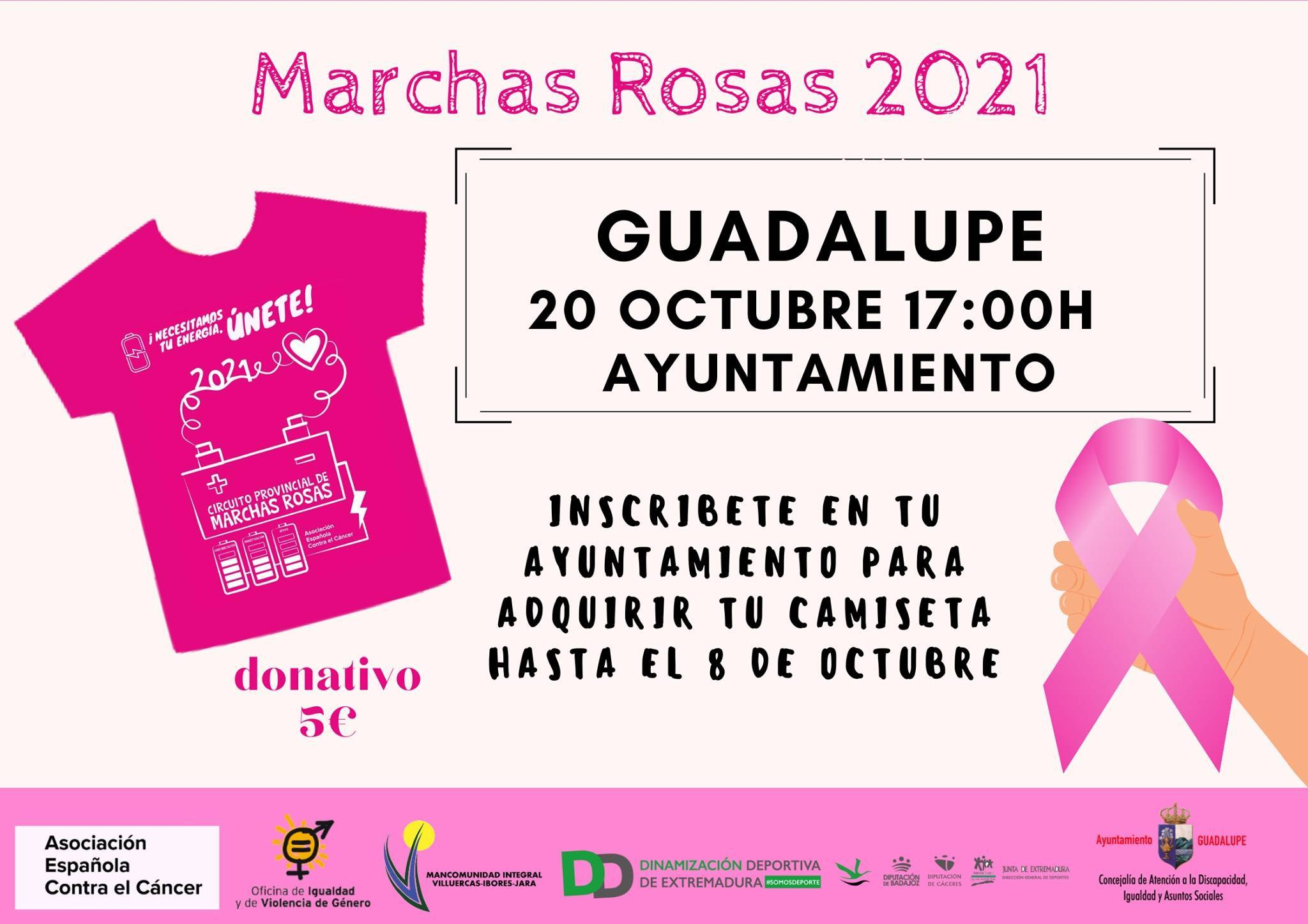 Marchas rosas (2021) - Guadalupe (Cáceres)