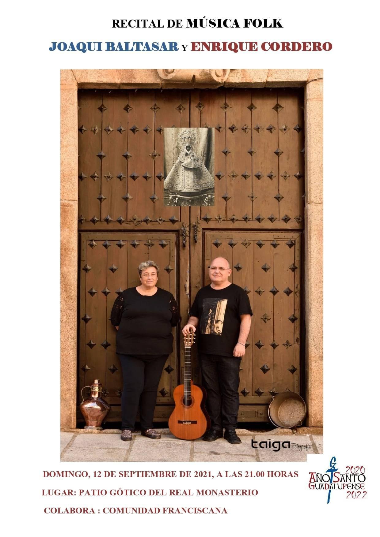 Recital de música folk (septiembre 2021) - Guadalupe (Cáceres)
