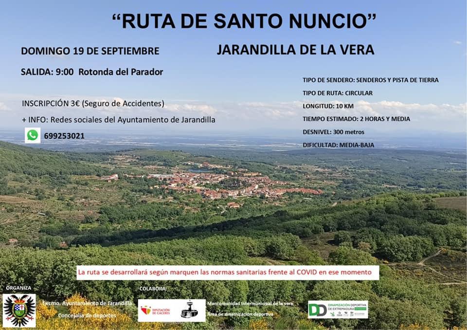 Ruta de Santo Nuncio (2021) - Jarandilla de la Vera (Cáceres)