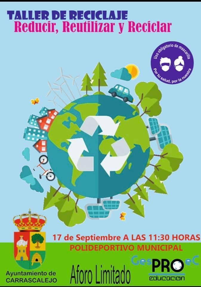 Taller de reciclaje (2021) - Carrascalejo (Cáceres)