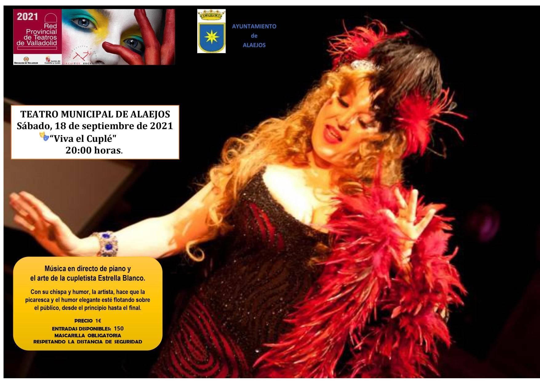 'Viva el cuplé' (2021) - Alaejos (Valladolid)