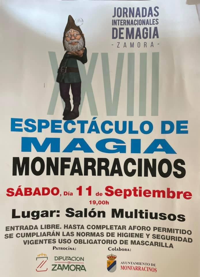 XXVIII espectáculo de magia - Monfarracinos (Zamora)