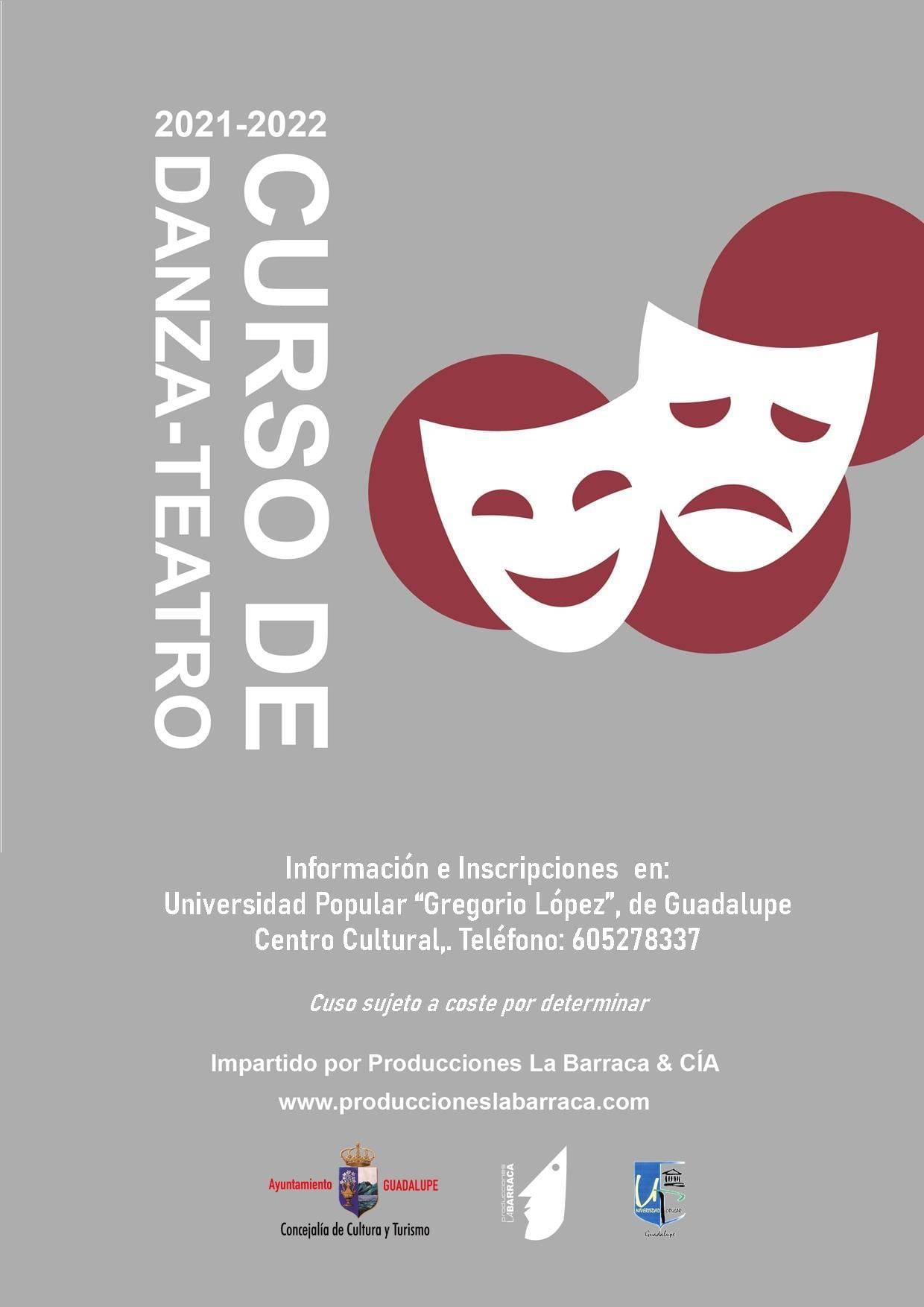 Curso de danza-teatro (2021-2022) - Guadalupe (Cáceres)