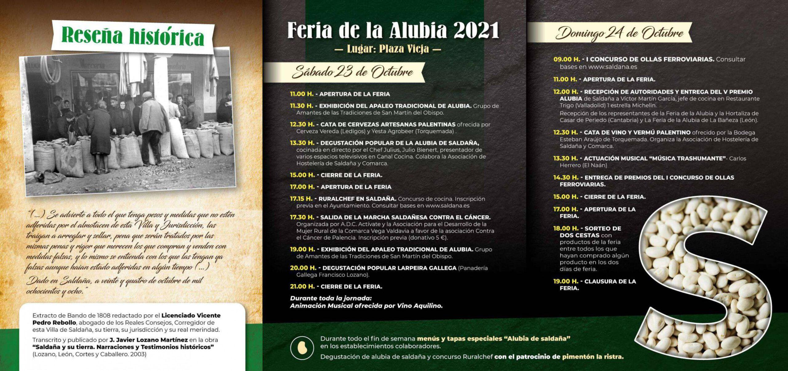 Feria de la Alubia (2021) - Saldaña (Palencia) 2