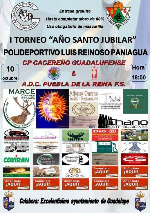 I torneo de fútbol sala 'Año Santo Jubilar' - Guadalupe (Cáceres)